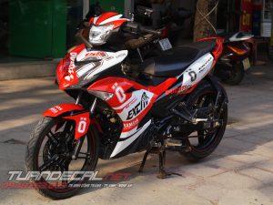 Tem Trùm Exciter 150 Ducati - Ohlins