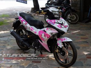 Tem Trùm Exciter 150 Hello Kitty
