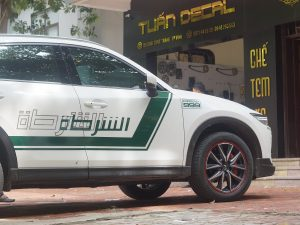 Tem Xe CX5 Police DuBai